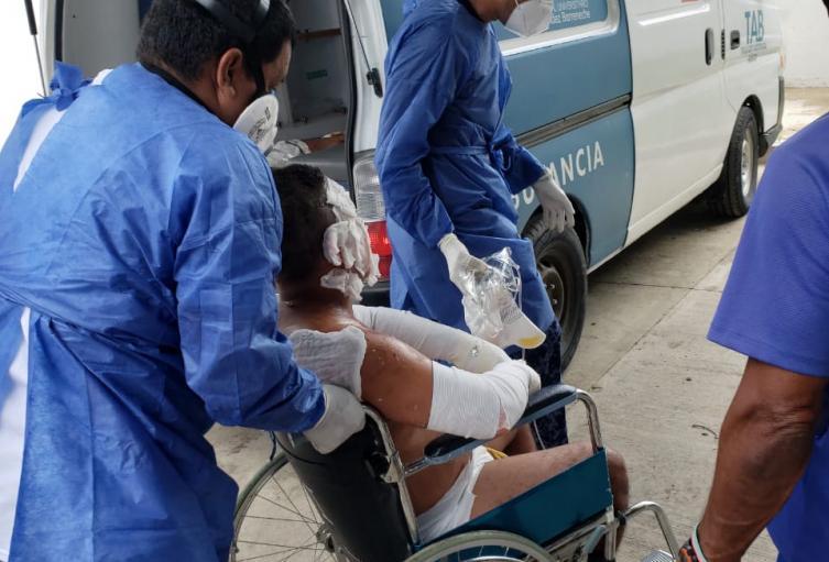 decena de heridos fueron remitidos a diversos centros asistenciales en el Magdalena, Atlántico y el Cesar