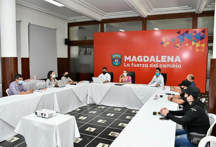 Capacitaciones, Turismo, Magdalena
