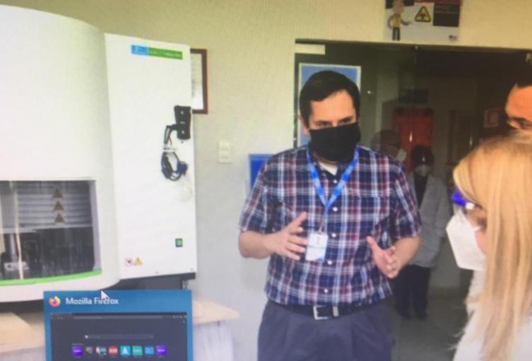 Dispositivo que fortalecerá el análisis de muestras en el departamento