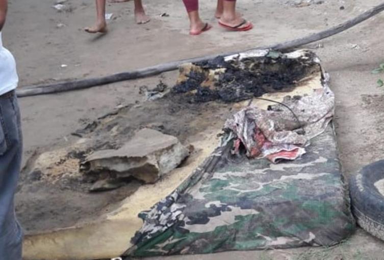 Incendio dejó una bebé calcinada y a su madre gravemente quemada