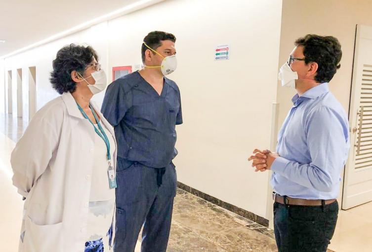 gobernador del Magdalena ha seguido paso a paso la recuperación y atención  de los heridos por la tragedia de Tasajera