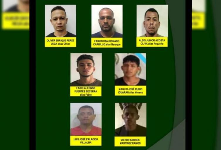 las autoridades están tras el rastro de los hombre que se escaparon