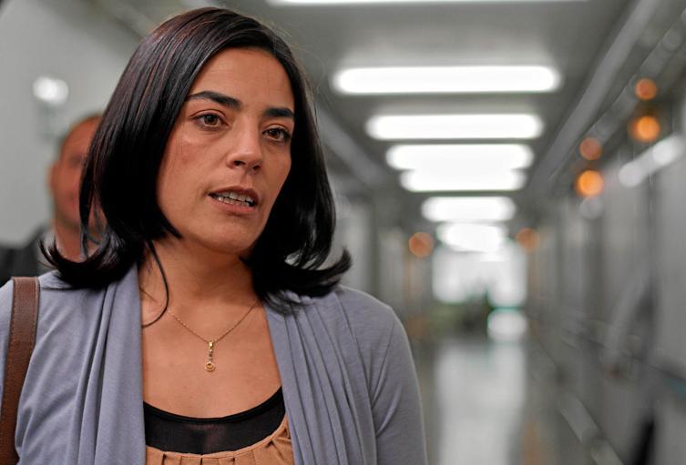 Sandra Reyes, actriz colombiana