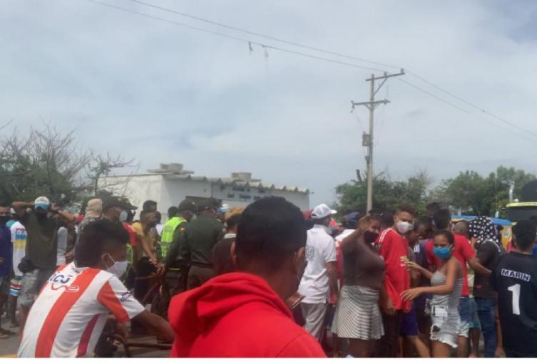 Comunidad exige entrega de los cuerpos de fallecidos luego de la tragedia de Tasajera