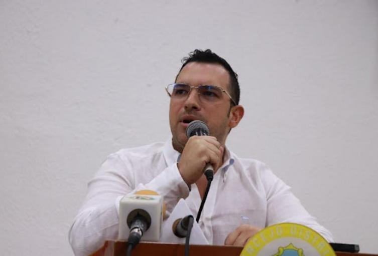 Jesús Acevedo excontralor de Barranquilla.