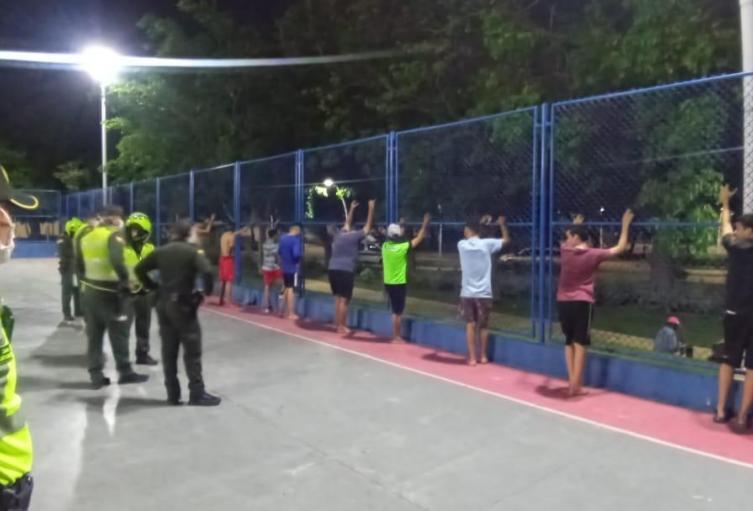 Los jóvenes fueron llevados a la UCJ como castigo.