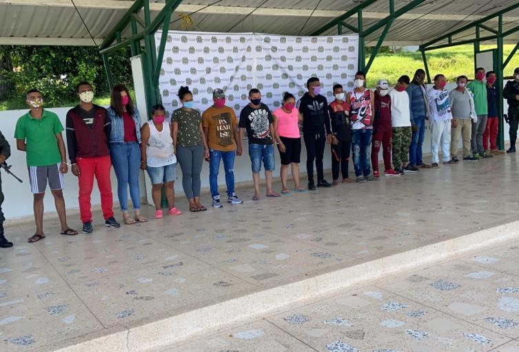 Policìa Nacional propina aplastante golpe a cabecillas del clan del golfo en Sucre
