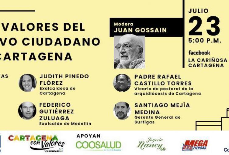 Organiza la campaña Cartagena con Valores de RCN Radio