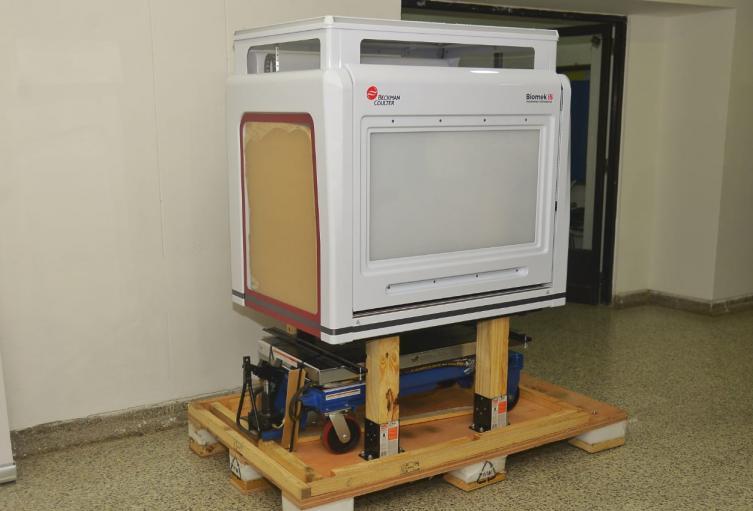 robot laboratorio Universidad de Cartagena