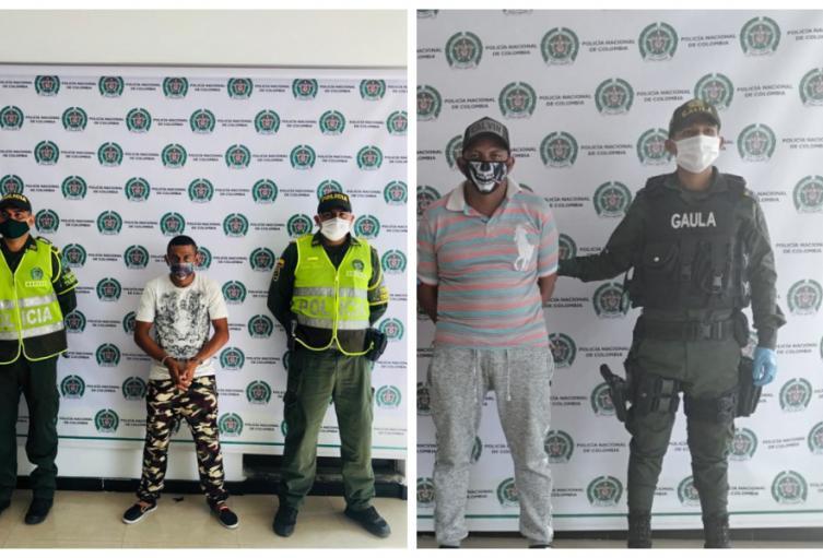Dos presuntos integrantes del clan del golfo fueron capturados en Sincelejo y Sampues