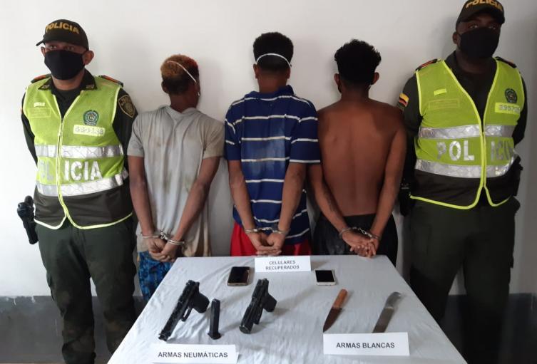 Presunta banda de delincuentes