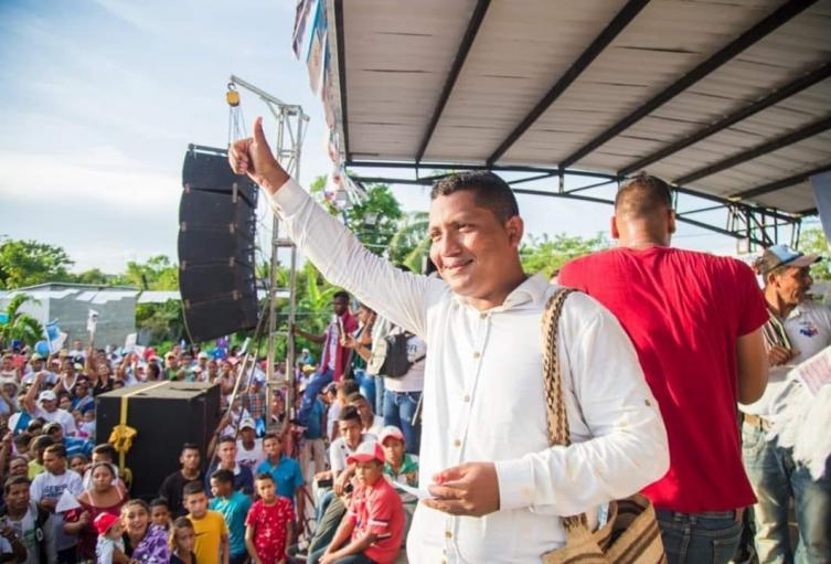 con una diferencia de 11 votos Genor Bolaño ganó las elecciones de San Zenón