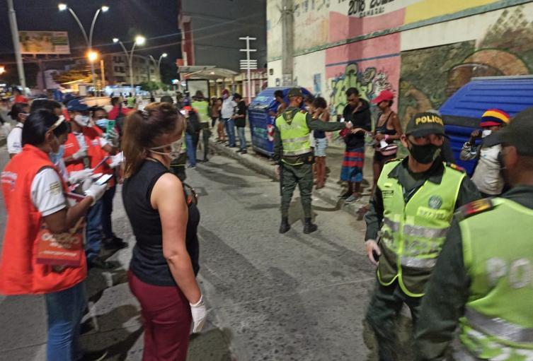Policía, Santa Marta, Operativos, Puntos Críticos