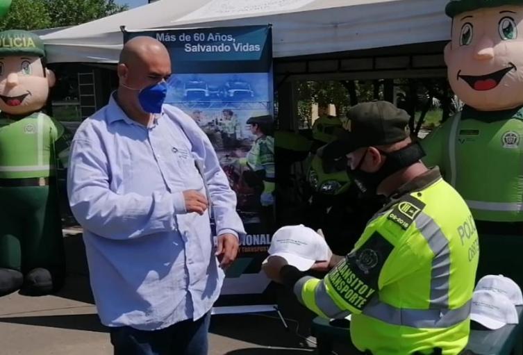 Policía de Tránsito de Bolívar