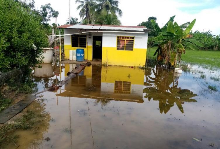 Las inundaciones son ocasionadas  por el río Sinú.