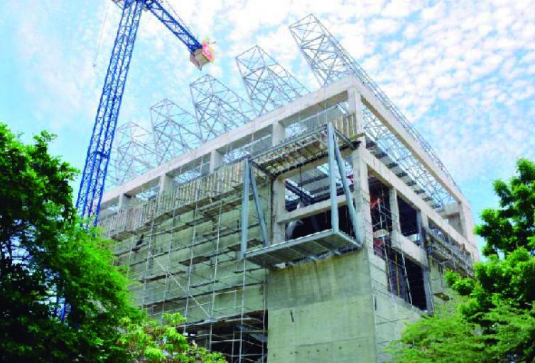 La construcción de la nueva sede del museo se encuentra paralizada.