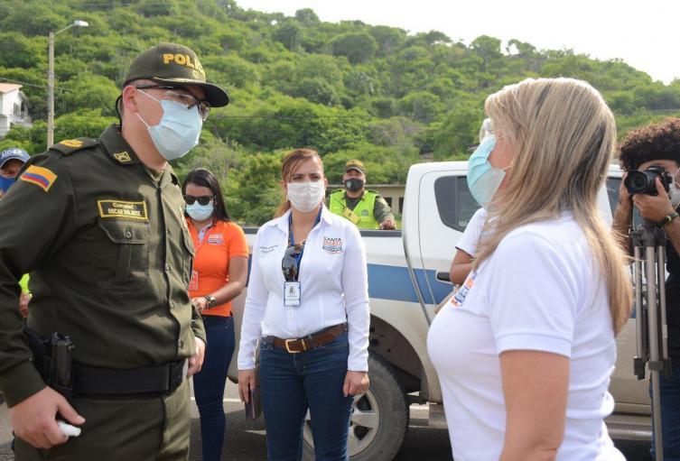 Alcaldía, Policía, Delitos, Santa Marta