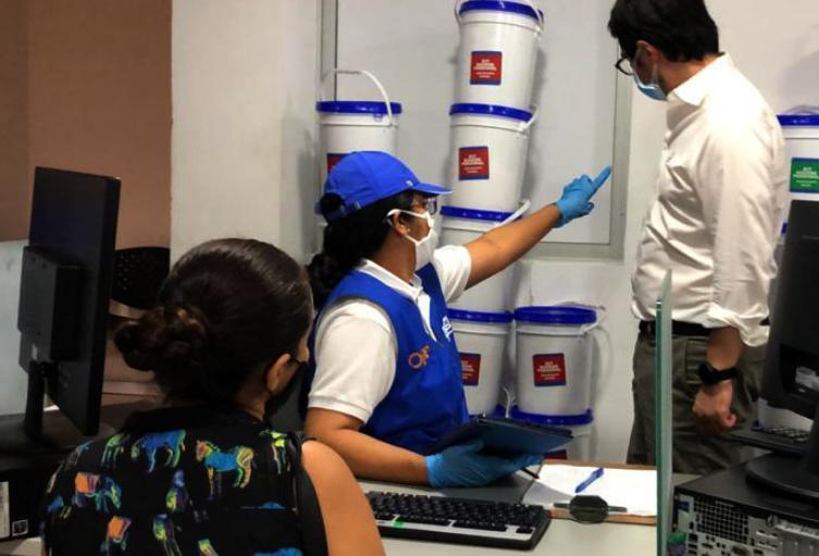 La población venezolana ha recibido el apoyo de la Alcaldía de Barranquilla.