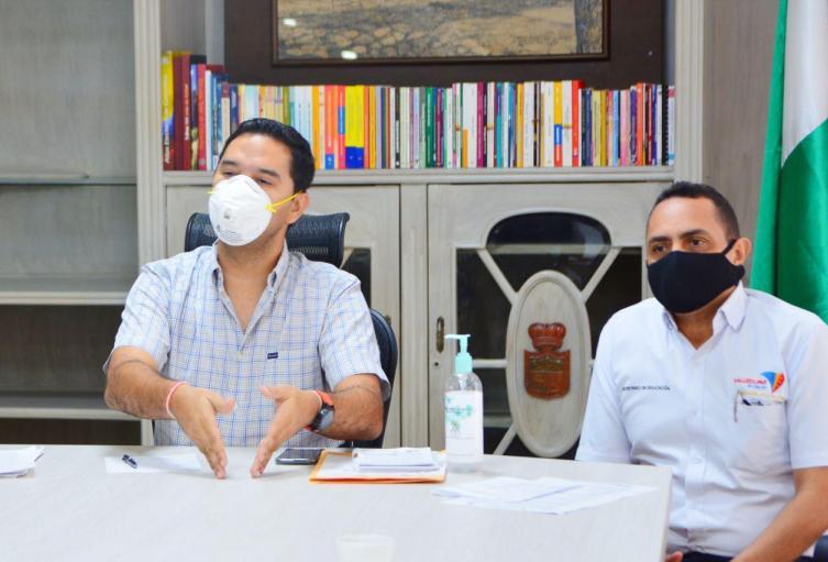 los contagios en el Departamento van en aumento.
