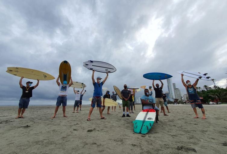 Surfistas de Cartagena