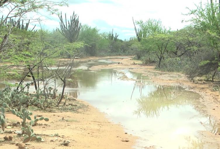La vías de acceso a las comunidades están inundadas.