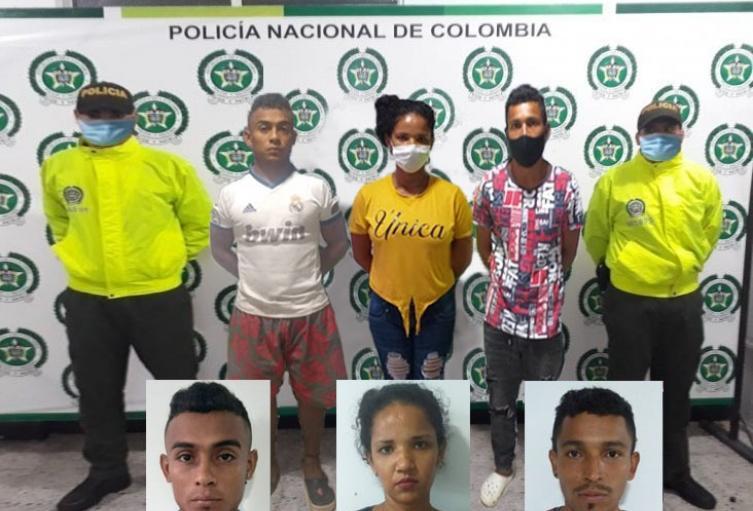 """Policía captura a banda delincuencial denominada """"los Recogidos"""" en  Sincelejo"""