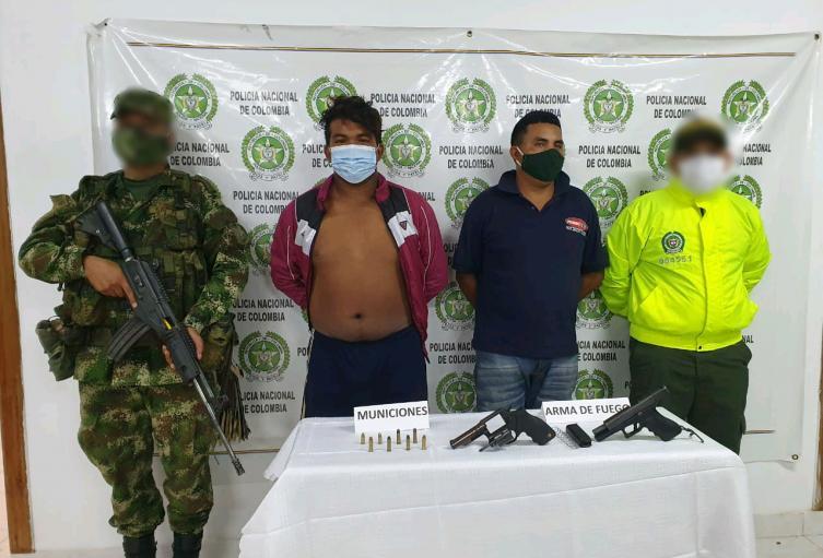 Los capturados pertenecen al Clan del Golfo