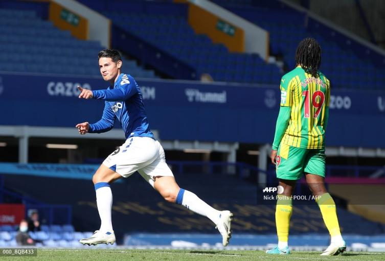 James Rodríguez - Everton 2020