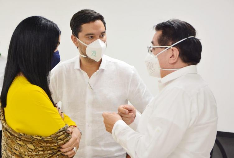 Autoridades de la salud en Cesar