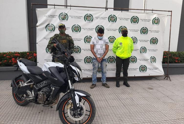 La captura se llevó a cabo en Valencia.