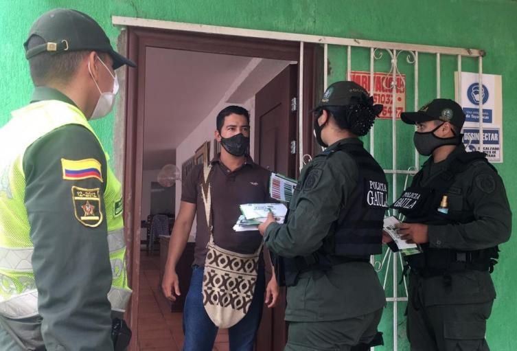 Policía, Extorsión, Magdalena, Algarrobo