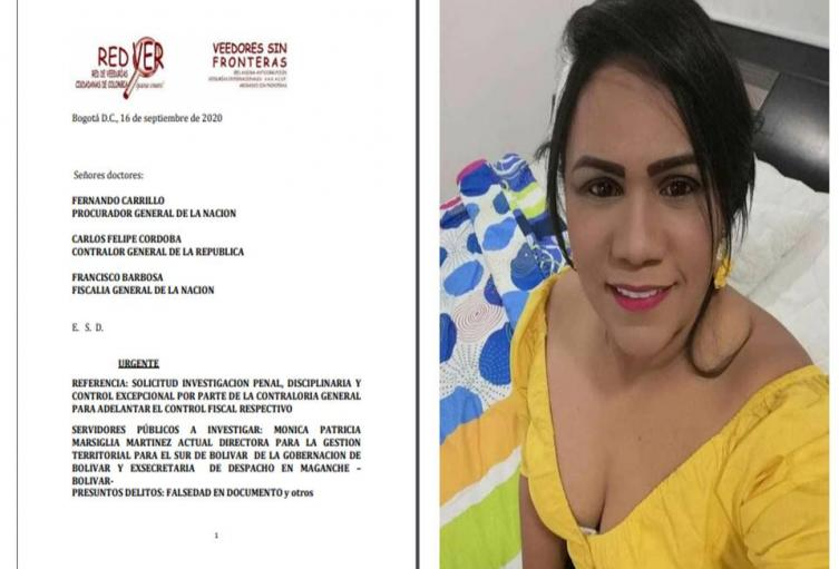 Directora de Gestión Territorial para el Sur de Bolívar