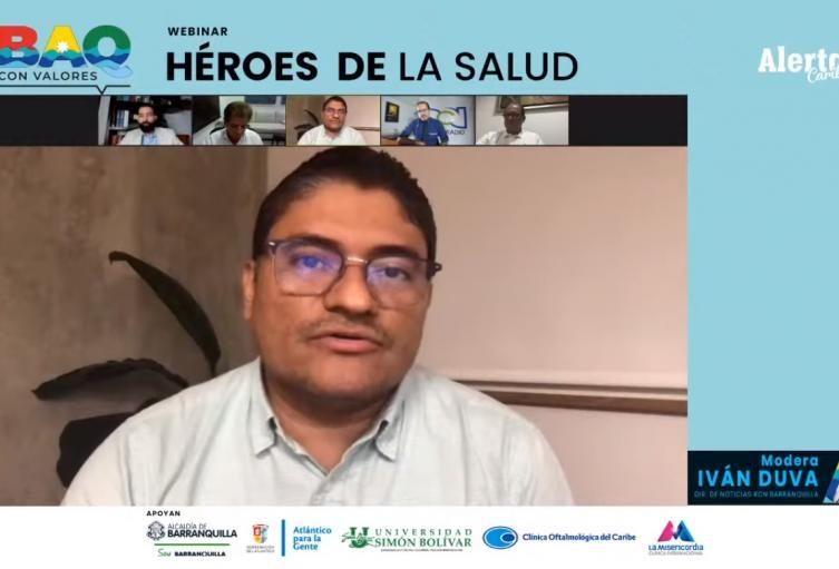 Foro Héroes de la Salud de Alerta Caribe y RCN Radio