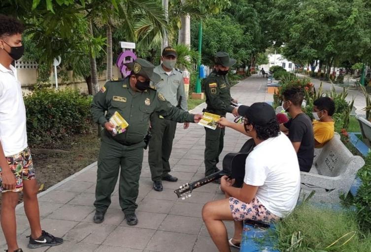 Policía, Magdalena, Medio ambiente, Comunidad