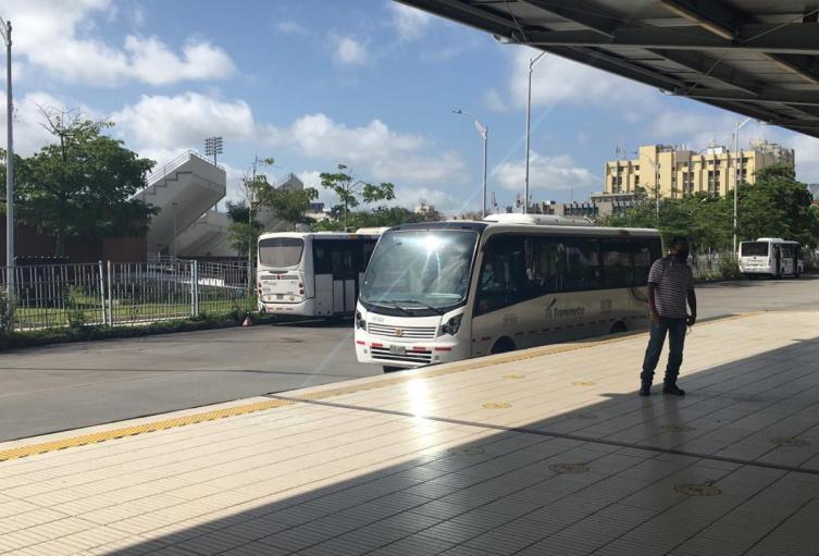 Estación Joe Arroyo en Barranquilla