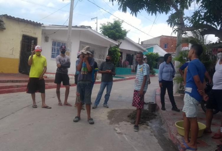 Protesta Barrio Carlos Meisel