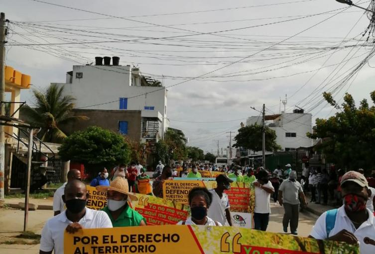 Manifestación en la Boquilla