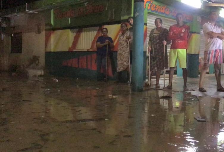 Inundaciones en Riohacha.