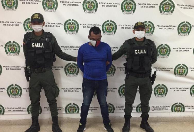Fiscalía captura Cabecilla 'nuevos costeños'.