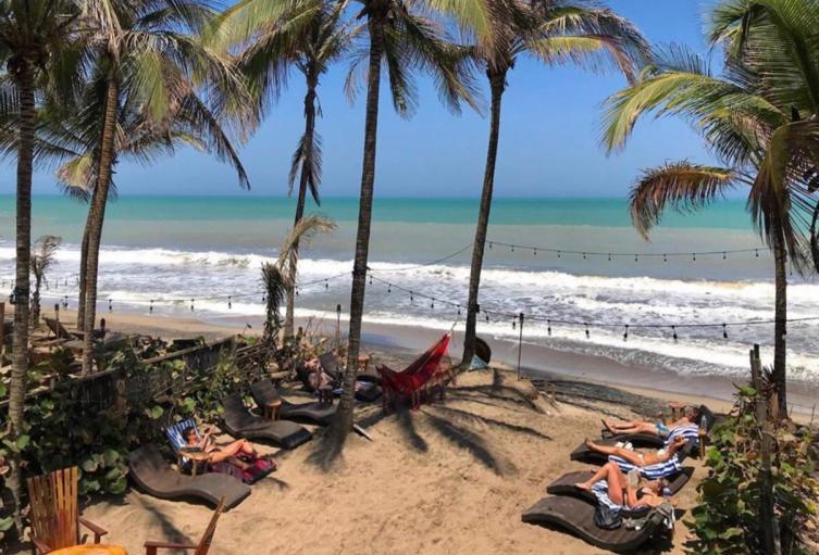 Playas de Palomino.