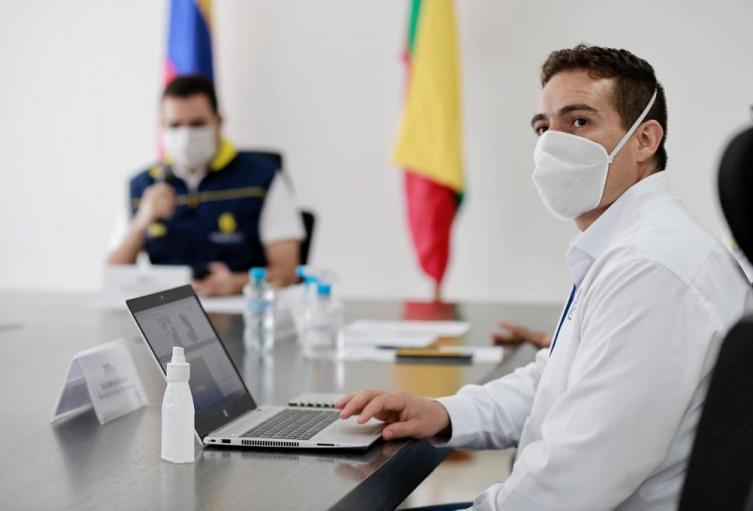 secretario de salud de Bolívar