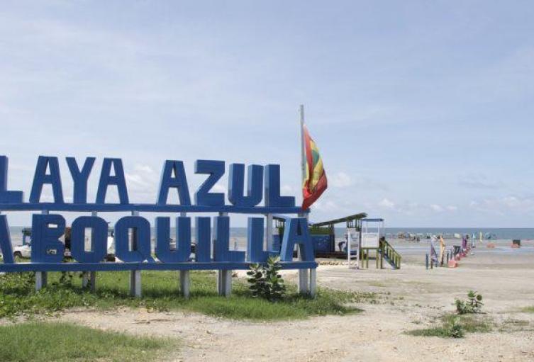 Playa Azul La Boquilla