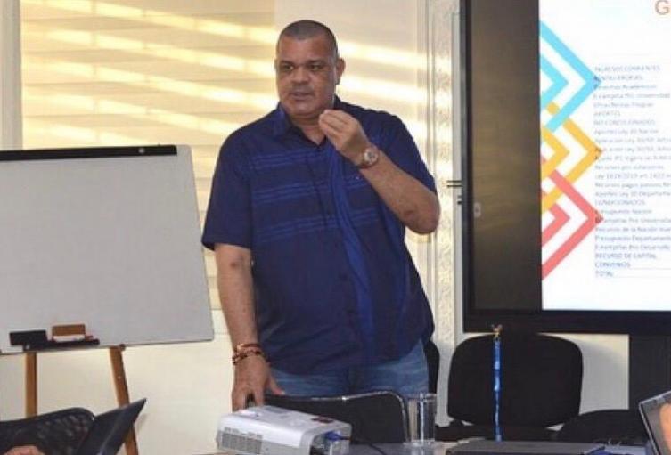 Rector de la Universidad de La Guajira.