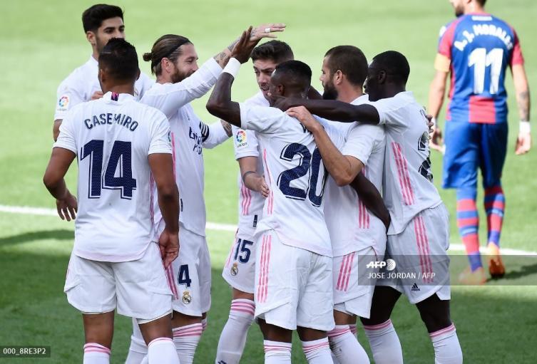 Real Madrid, liga española