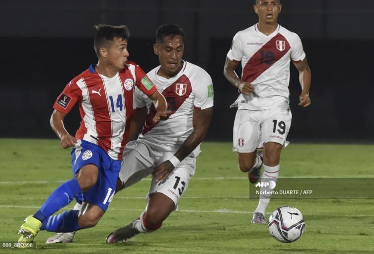 Paraguay vs Perú - eliminatorias