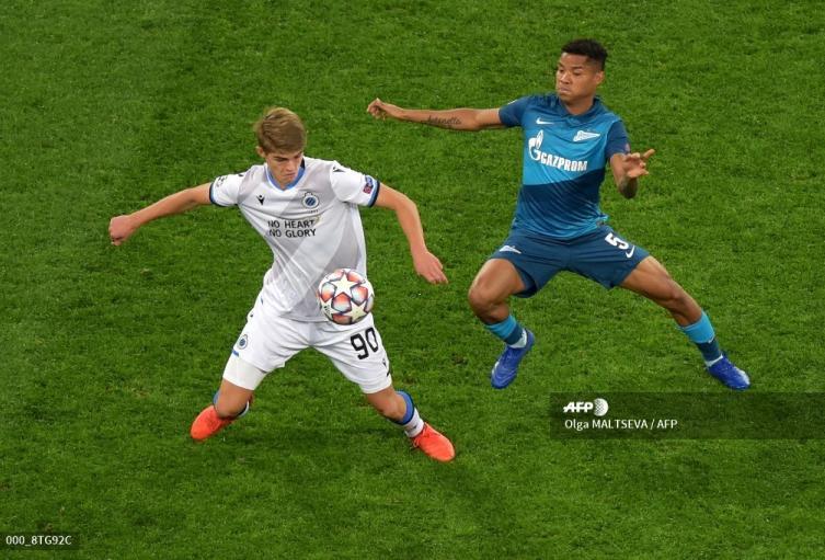 Wilmar Barrios - Zenit en Champions League