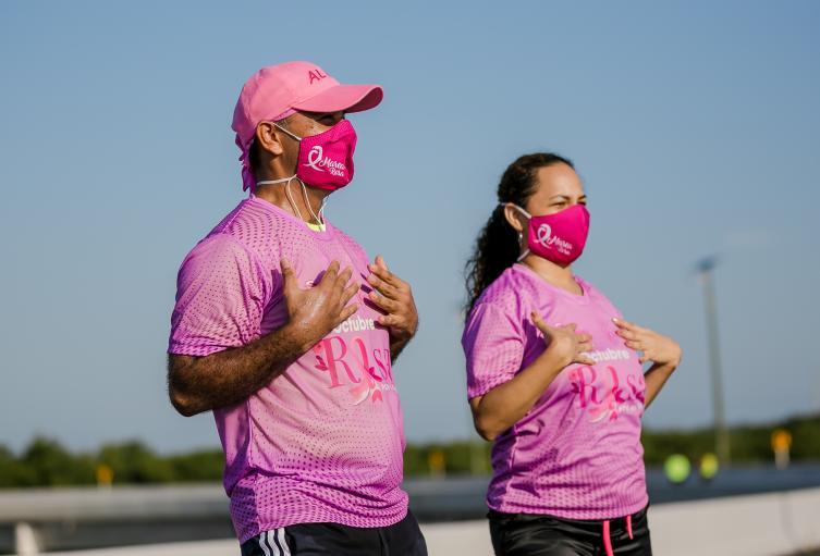 La ola rosa que el año pasado alcanzó la movilización de más de 26.000 personas en el país.