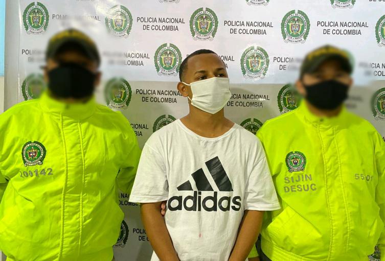 """En Sucre fue capturado Alias """"El Bifra"""" presunto integrante del Clan del Golfo"""