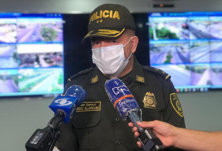 Comandante Policía Metropolitana Barranquilla