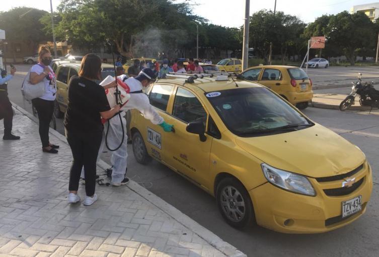Distrito, Taxis, Covid - 19, Movilidad, Santa Marta, Magdalena